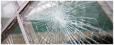 East Ham Smashed Glass